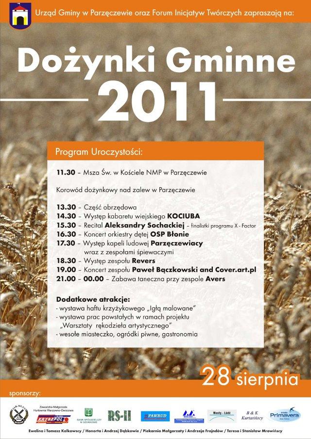 Dożynki Gminne 2011