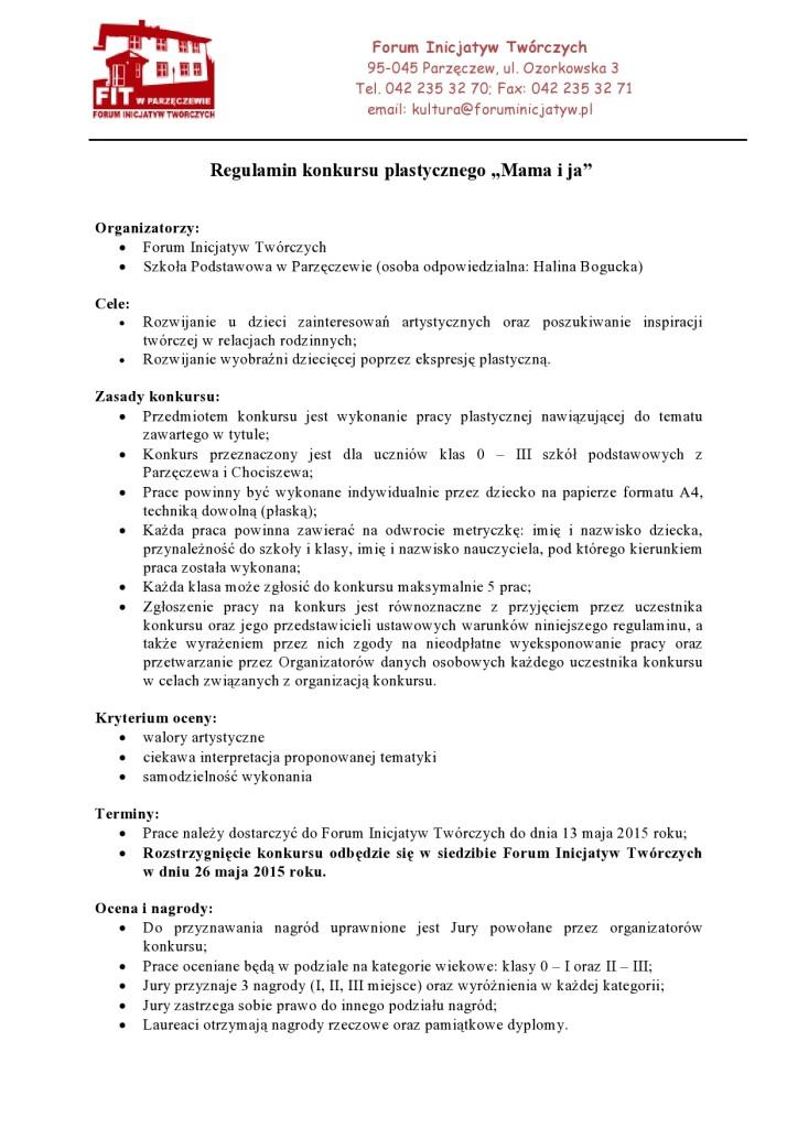Regulamin konkursu plastycznego-page0001